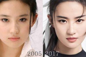 Nhìn lại ảnh cũ 12 năm của Lưu Diệc Phi: Là xinh đẹp vượt thời gian hay do dao kéo?
