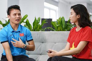 Mất ngủ vì sút trượt penalty, Quang Hải chỉ mong sớm được về nhà 'ôm bố mẹ một cái'