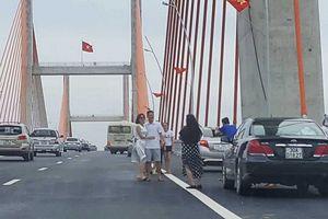 Nguy cơ mất an toàn giao thông trên cây cầu 7000 tỷ
