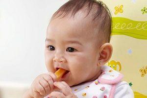 Trẻ 5 tháng tuổi ăn được những gì để 'lớn nhanh như thổi'?