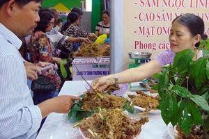 Đề nghị xây dựng Trung tâm phiên chợ sâm Ngọc Linh