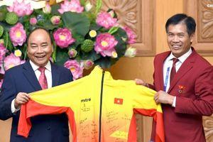 Thủ tướng Nguyễn Xuân Phúc: Thành tích của đoàn thể thao là xuất sắc, mang lại cảm giác lâng lâng khó tả