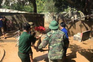 Bộ đội biên phòng Nghệ An giúp dân vùng lũ ổn định cuộc sống