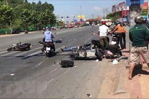 Xảy ra 83 vụ tai nạn giao thông trong dịp lễ Quốc khánh