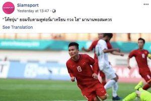 Fan nước ngoài 'háo hức' Quang Hải sang Thái thi đấu