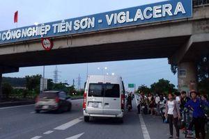 Tình trạng đón trả khách 'tự do' trên cao tốc Hà Nội – Bắc Giang