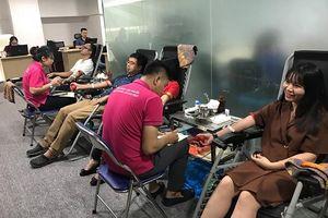 HOCMAI tổ chức hiến máu nhân đạo trước thềm khai giảng
