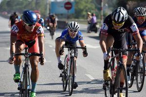 Tay đua quốc tế hụt hơi tại chặng 3 giải đua xe đạp VTV Cup 2018