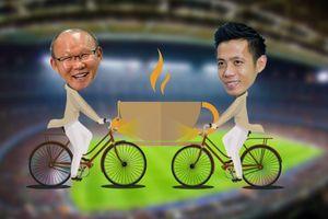 HLV Park muốn đi xe đạp, mời Văn Quyết uống cà phê