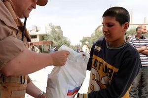 Tình hình nhân đạo Syria: Cách ứng xử mềm của Nga