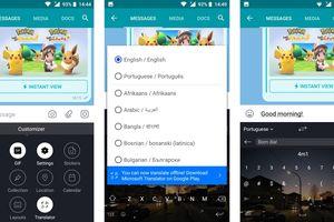 Bàn phím SwiftKey cho Android bổ sung tính năng dịch văn bản