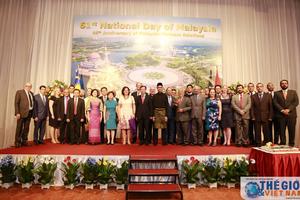 Chiêu đãi kỷ niệm lần thứ 61 Quốc khánh Malaysia tại Việt Nam