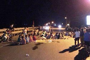 Chín người bị bắt vì gây rối khi chặn quốc lộ phản đối nhà máy rác