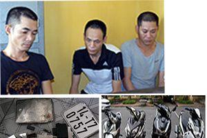 Bắt đối tượng gây ra 11 vụ trộm xe máy liên tỉnh
