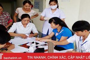 Đi trước một bước, 100% người dân Vũ Quang được lập hồ sơ sức khỏe