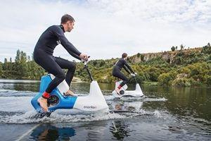 Hydrofoiler XE-1: Xe đạp đi trên mặt nước