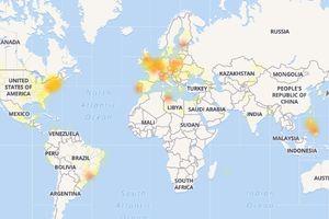 Facebook và Instagram bị sập diện rộng tại Mỹ và châu Âu