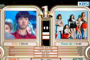 BTS đánh trống khua chiêng mừng chiến thắng đầu tiên của 'Idol'
