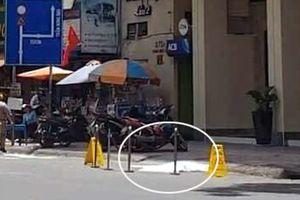 Một người nước ngoài nghi nhảy lầu tự vẫn ở trung tâm quận 1