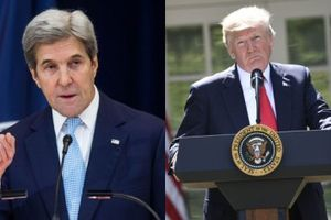 Trump thách thức cựu Ngoại trưởng John Kerry tranh cử tổng thống năm 2020