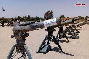 Khủng bố ở Syria được trang bị vũ khí tối tân như thế nào?