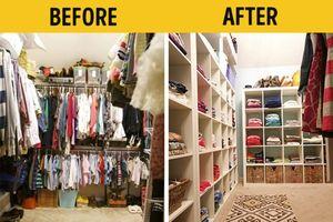 Mách chị em mẹo sắp xếp tủ đồ đẹp như ở cửa hàng thời trang và tiết kiệm không gian