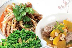 Thực đơn 3 món ngon đơn giản, chế biến nhanh cho bữa cơm tối gia đình