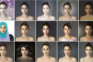 Kinh ngạc với vẻ đẹp cô gái được photoshop bởi 21 thợ ảnh trên toàn thế giới