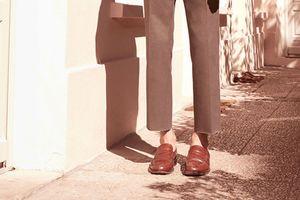 Đi giày không mang tất: Thế nào mới đẹp?