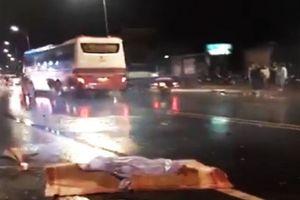 Va chạm với xe khách Thành Bưởi, 2 người tử vong tại chỗ