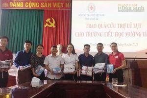 Nghệ An: Hỗ trợ nhân dân Kỳ Sơn khắc phục hậu quả lũ lụt