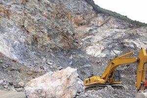 Cần làm rõ những sai phạm nghiêm trọng trong hoạt động khai thác đá của Công ty Hồng Hà