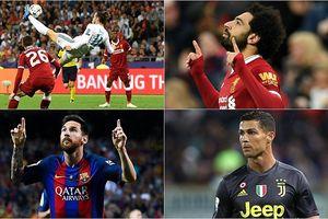 10 ứng viên cho giải thưởng bàn thắng đẹp nhất năm của FIFA