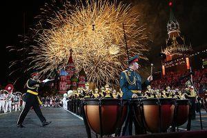 Hoành tráng Festival quân nhạc quốc tế tại Quảng trưởng Đỏ của Nga