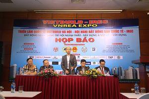 Triển lãm Vietbuild Hà Nội 2018 sẽ có 1.500 gian hàng