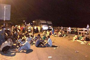 Tạm giữ hình sự 9 kẻ kích động gây rối trật tự, ném đá công an ở Quảng Ngãi