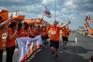 FPT nhận 2 kỷ lục Việt Nam sau hành trình chạy xuyên Việt