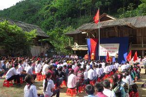 Sơn La: Thầy và trò vùng lũ rạng rỡ niềm vui trong Ngày Hội đến trường