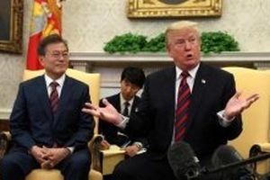Tổng thống Mỹ và Hàn Quốc điện đàm về diễn biến mới nhất trên Bán đảo Triều Tiên