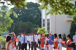 Đồng chí Võ Văn Thưởng dự khai giảng năm học mới tại Ninh Thuận