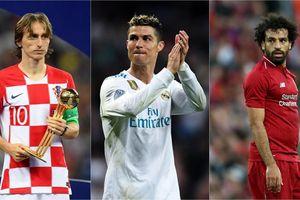 Messi rớt khỏi cuộc đua Quả bóng vàng FIFA