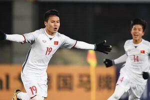 Nguyễn Quang Hải đứng đầu tốp 6 ngôi sao trẻ ở Asian Cup 2019