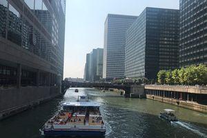 Chicago nhìn từ sông