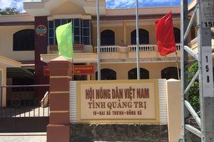 Hội Nông dân tỉnh Quảng Trị có dấu hiệu 'ém' thầu?