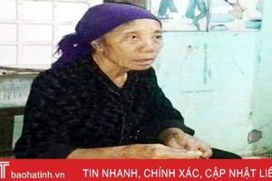 Cụ bà 69 tuổi mất tích 10 ngày chưa rõ lý do