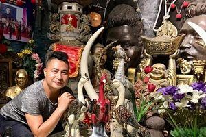 Ngôi nhà kì lạ của kiến trúc sư đam mê văn hóa Việt