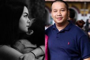 Sau đồn đoán ly hôn, Phạm Quỳnh Anh nỗi niềm: 'Đêm mưa cả bên ngoài lẫn bên trong'