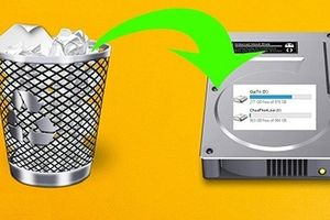 Cách khôi phục dữ liệu đã xóa trên ổ cứng
