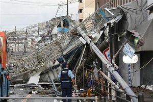 Nhật Bản: Bão Jebi khiến ít nhất 6 người chết, hàng trăm người bị thương