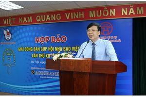 Họp báo Giải bóng bàn Cúp Hội Nhà báo Việt Nam lần thứ XII – 2018